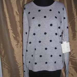Cynthia Rowley NWT 100% Cashmere Sweater-Size L